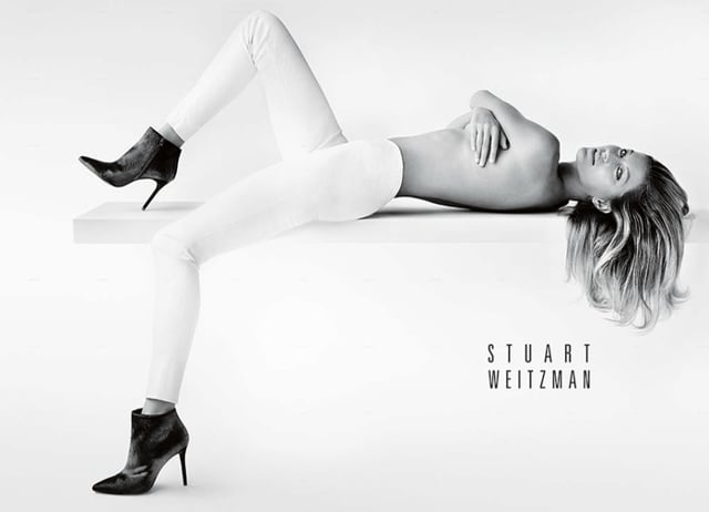 Behind the Scenes w  Gisele Bündchen   Stuart Weitzman Fall 2014 Collection