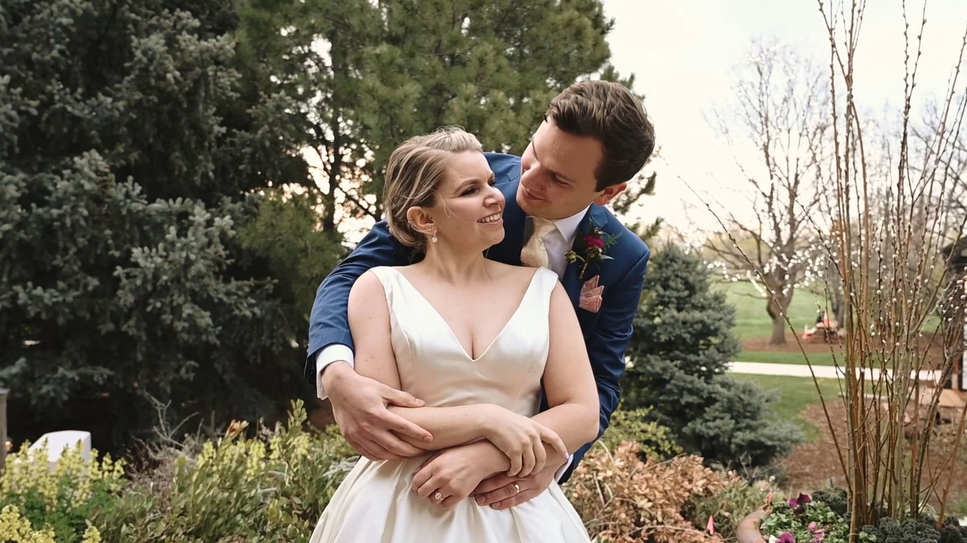 Denver Botanic Gardens Wedding - Laura & David
