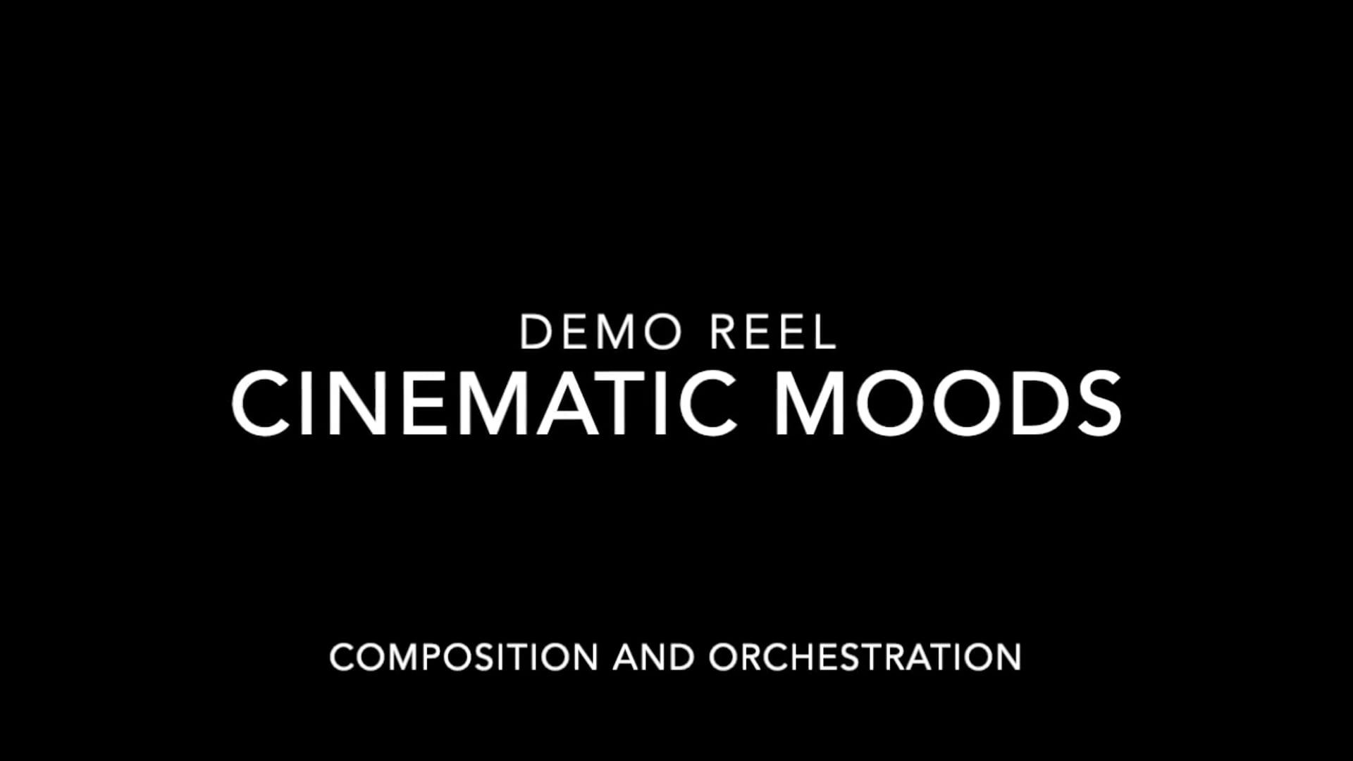 Demo Cinematic Reel
