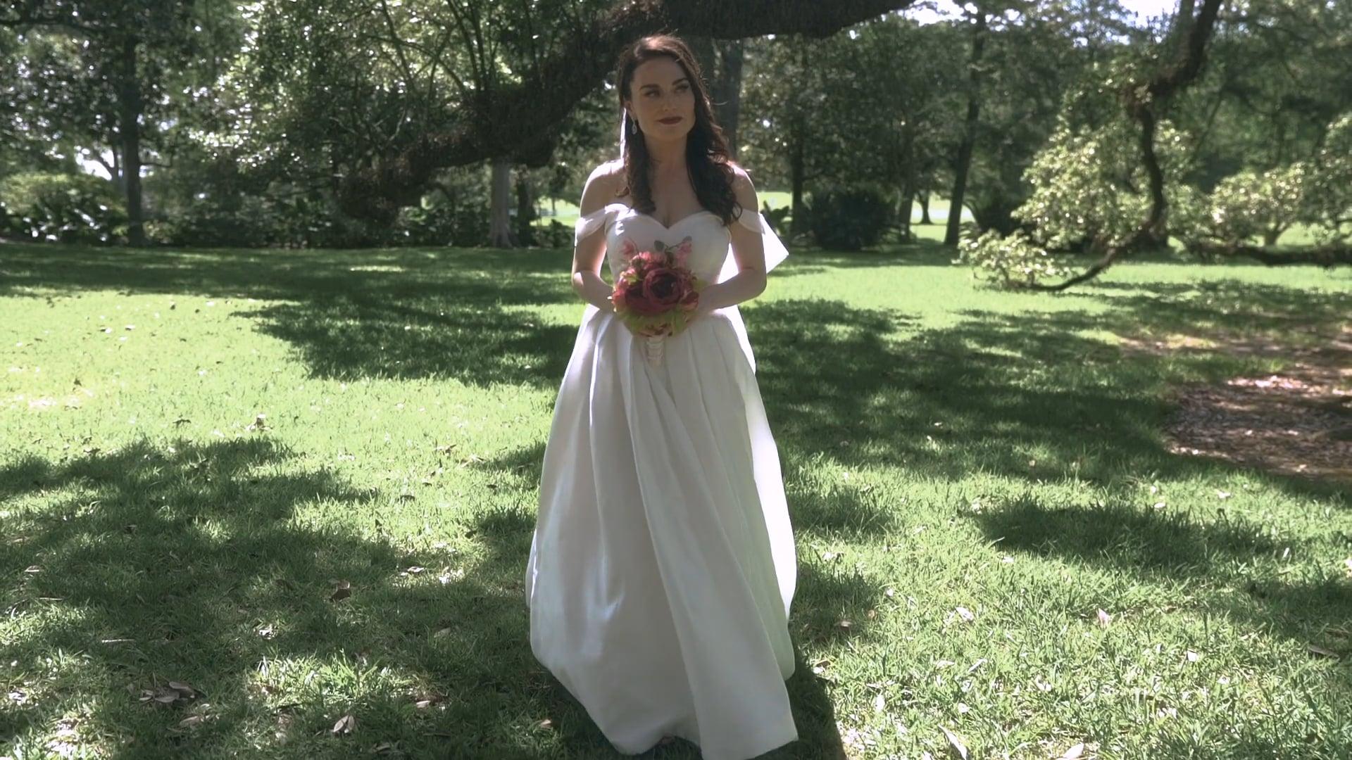 A Charming Destination Wedding at Oak Alley Plantation | Brit & Josh