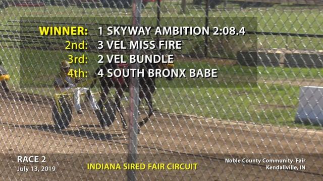 07-13-2019 Kendallville Race 2