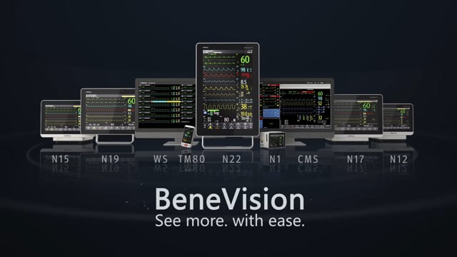 Expand your view with Mindray's BeneVision monitors