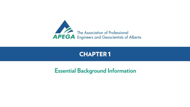 Authentication Standard eLearning Chapter 1