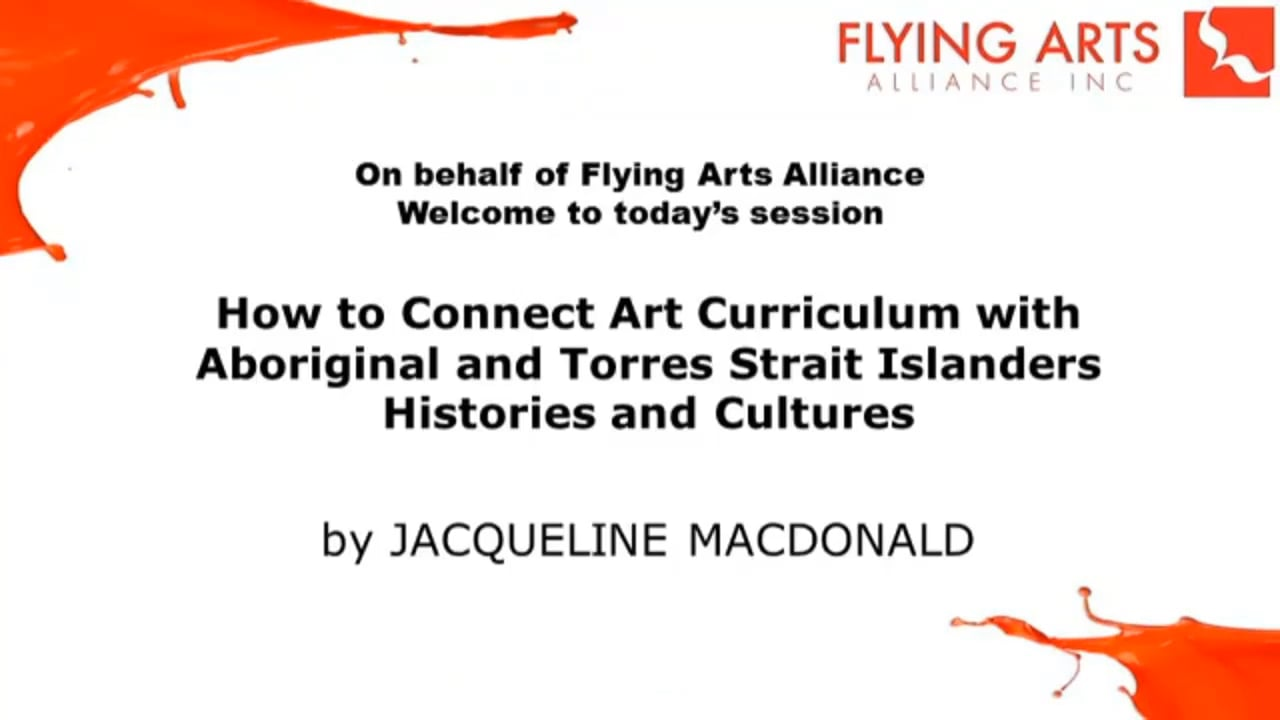 How to Connect Art Curriculum with Aboriginal and Torres Strait Islanders Histories and Cultures