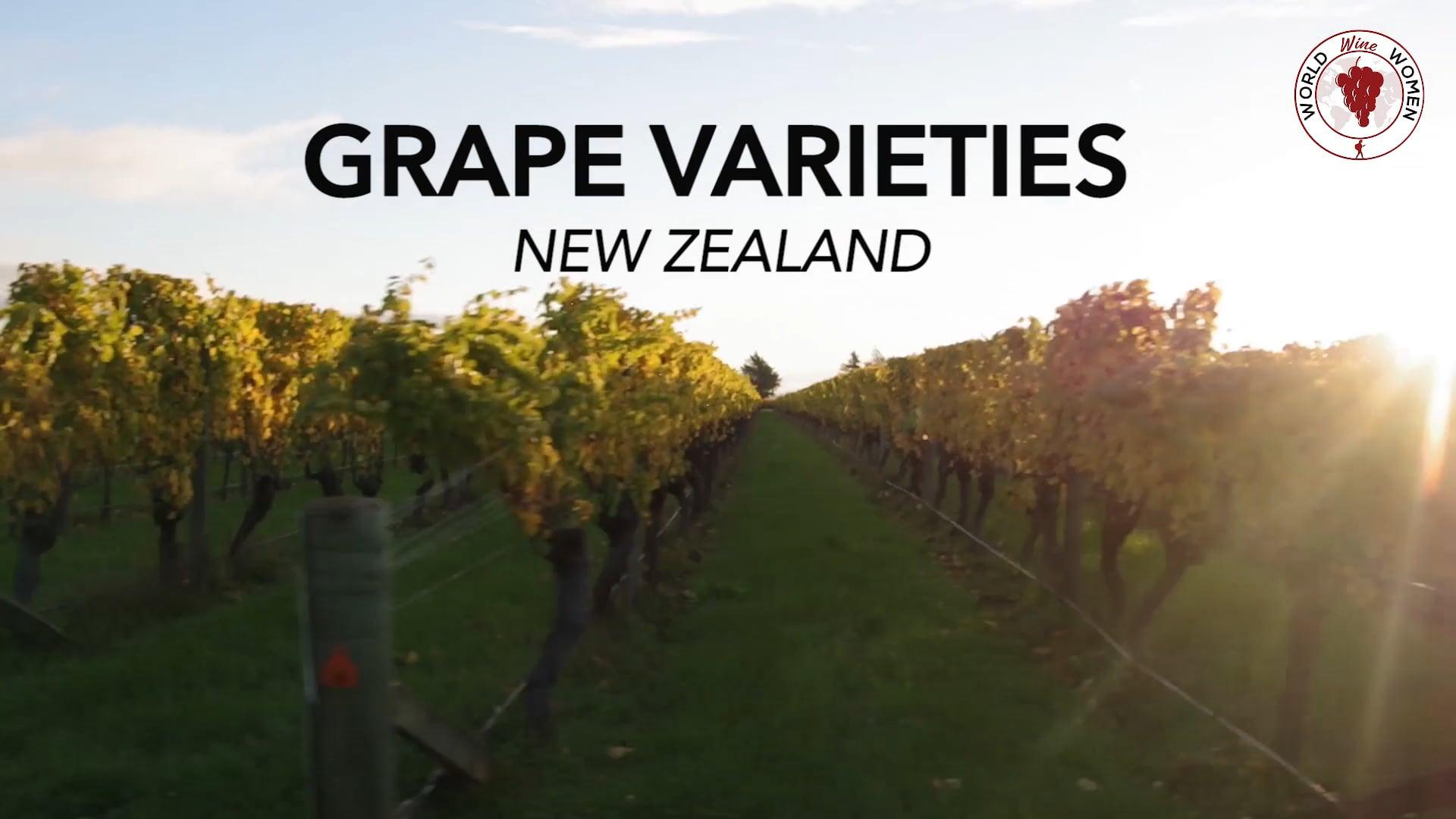 Grape varieties - New Zealand