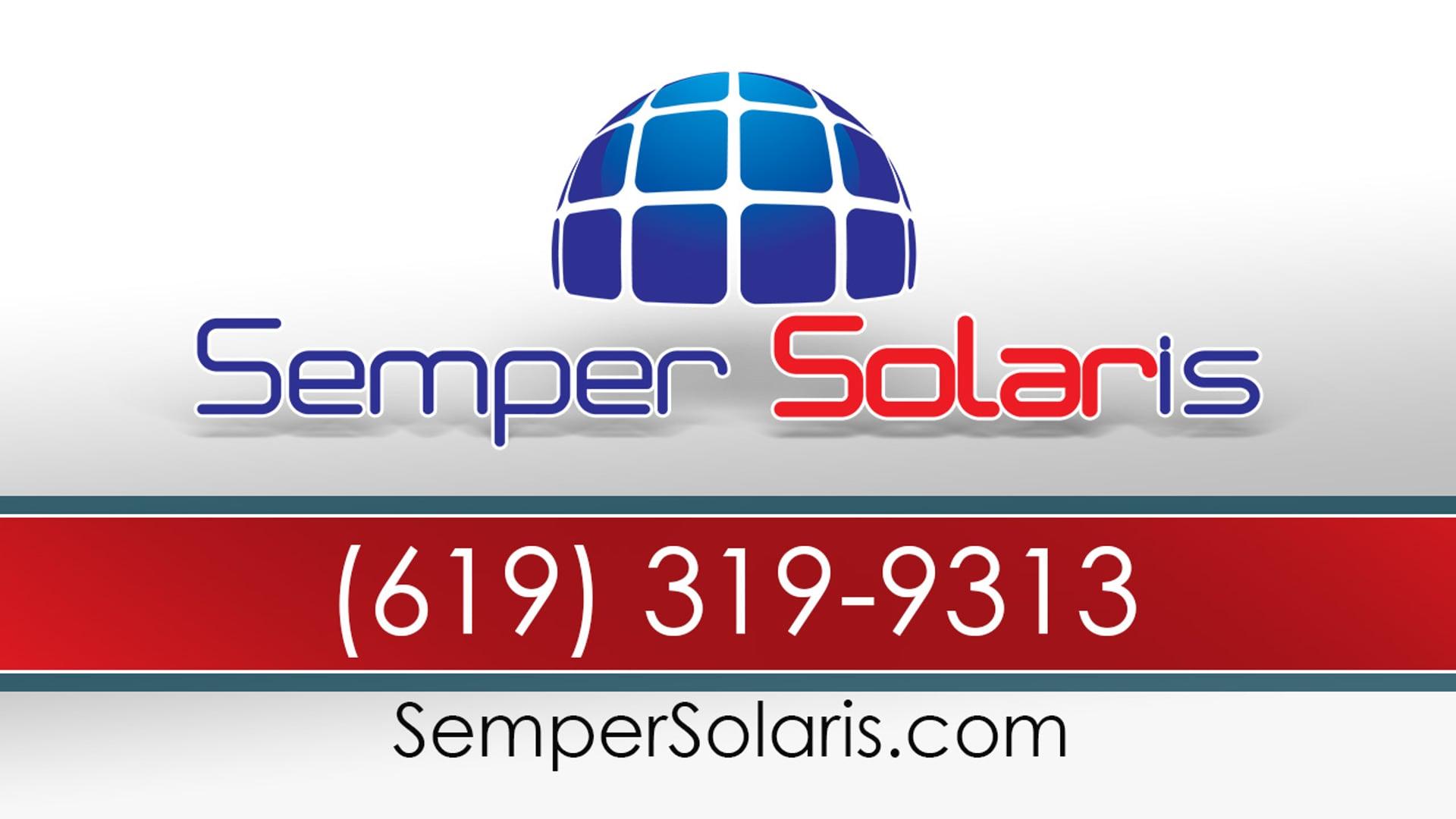 Best Solar Companies In Vista | SemperSolaris.com | Please Contact: (888) 210-3366