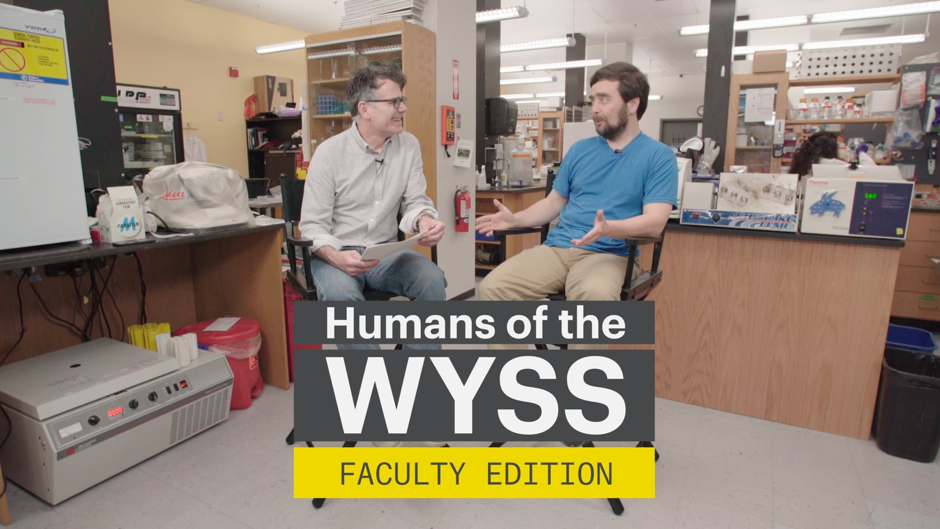 Humans of the Wyss - Faculty Edition with Mike Levin