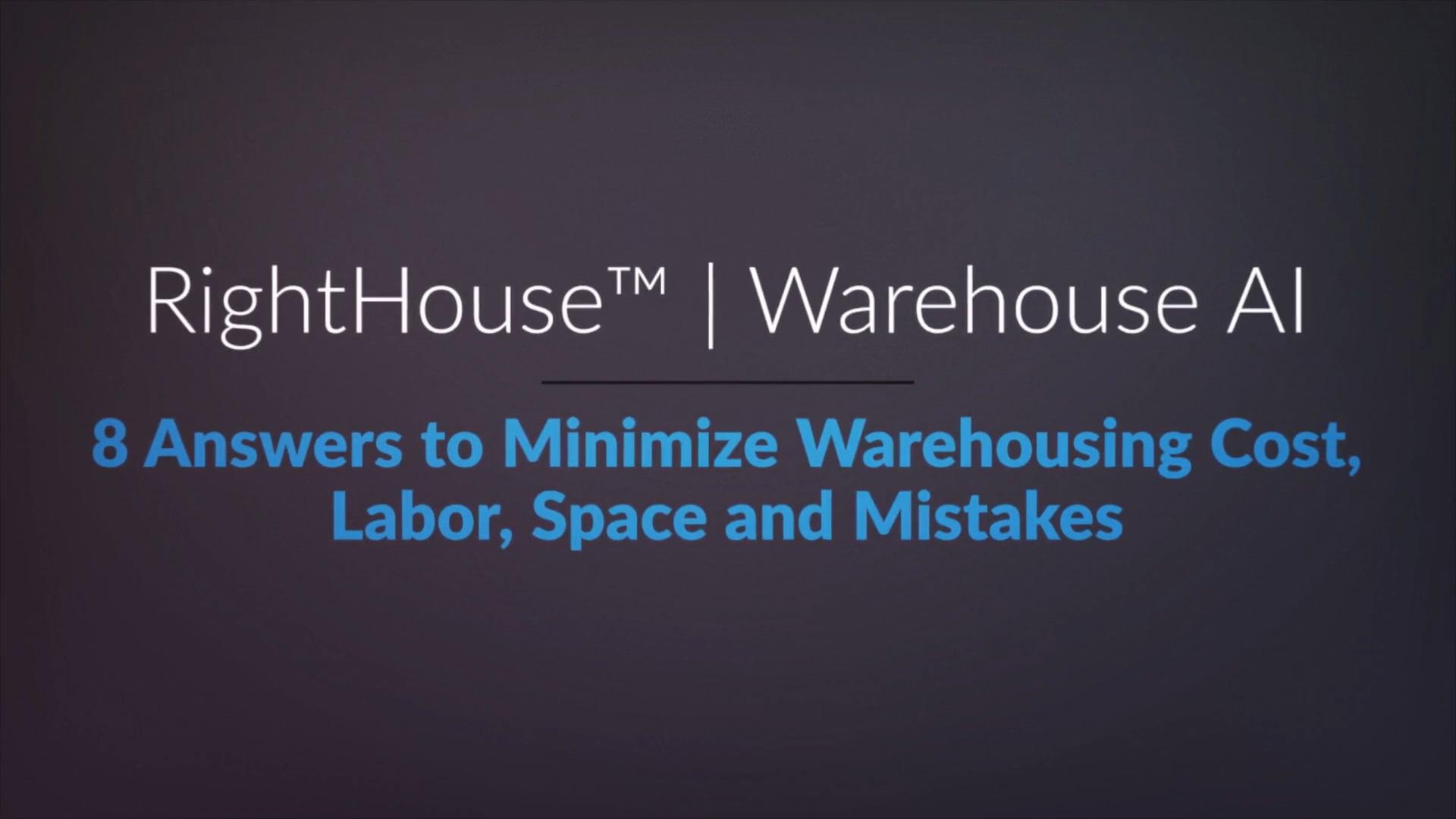 RightHouse | Warehouse AI