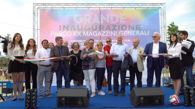 Inaugurazione parco pubblico