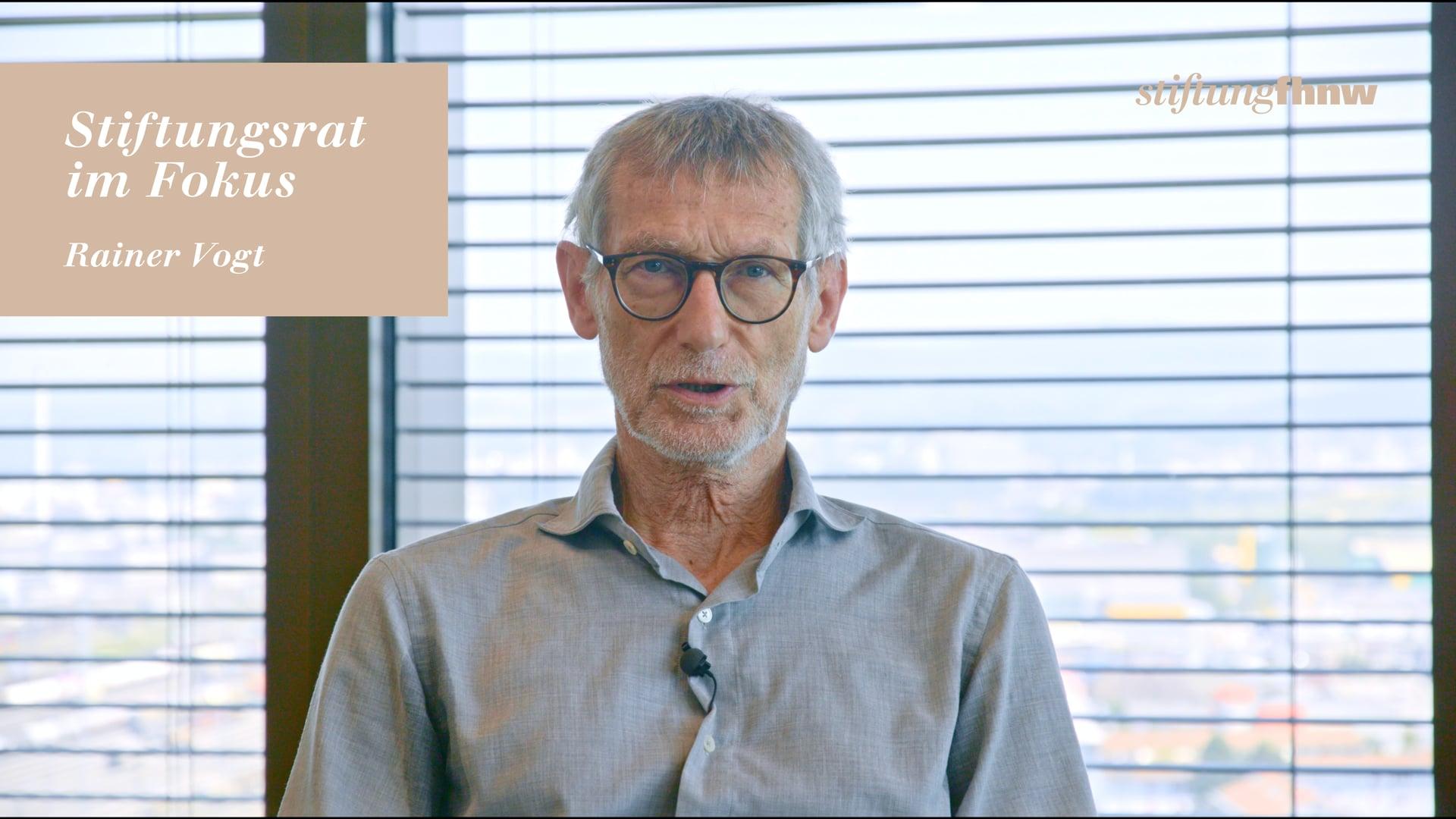 Testimonial Roman Vogt – StiftungFHNW 2019