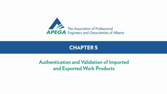 Authentication Standard eLearning Chapter 5