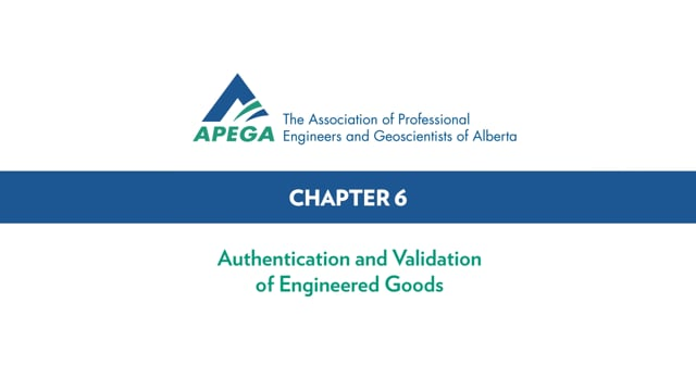 Authentication Standard eLearning Chapter 6