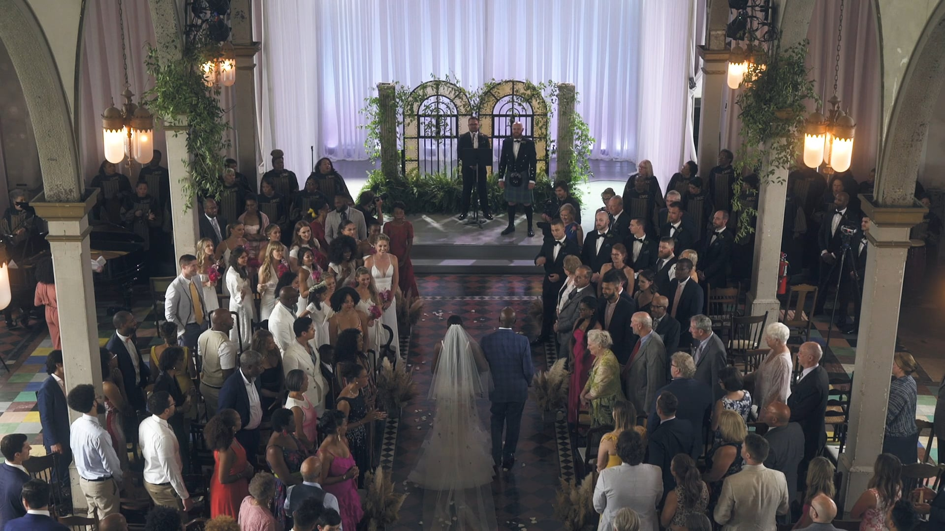 Z'hara & Kevin | Instagram Highlight | A New York Couple Travels to New Orleans to Get Married in the Iconic Marigny Opera House