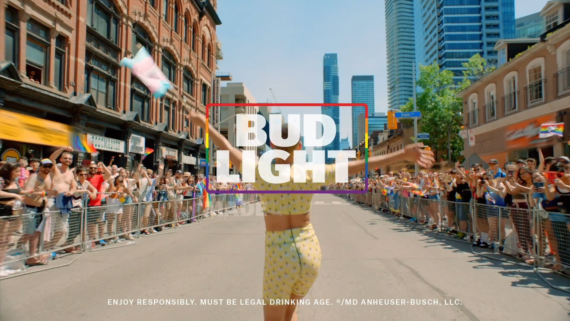 """""""Feels Right"""" Pride remix. With Carly Rae Jepson and Bud Light."""