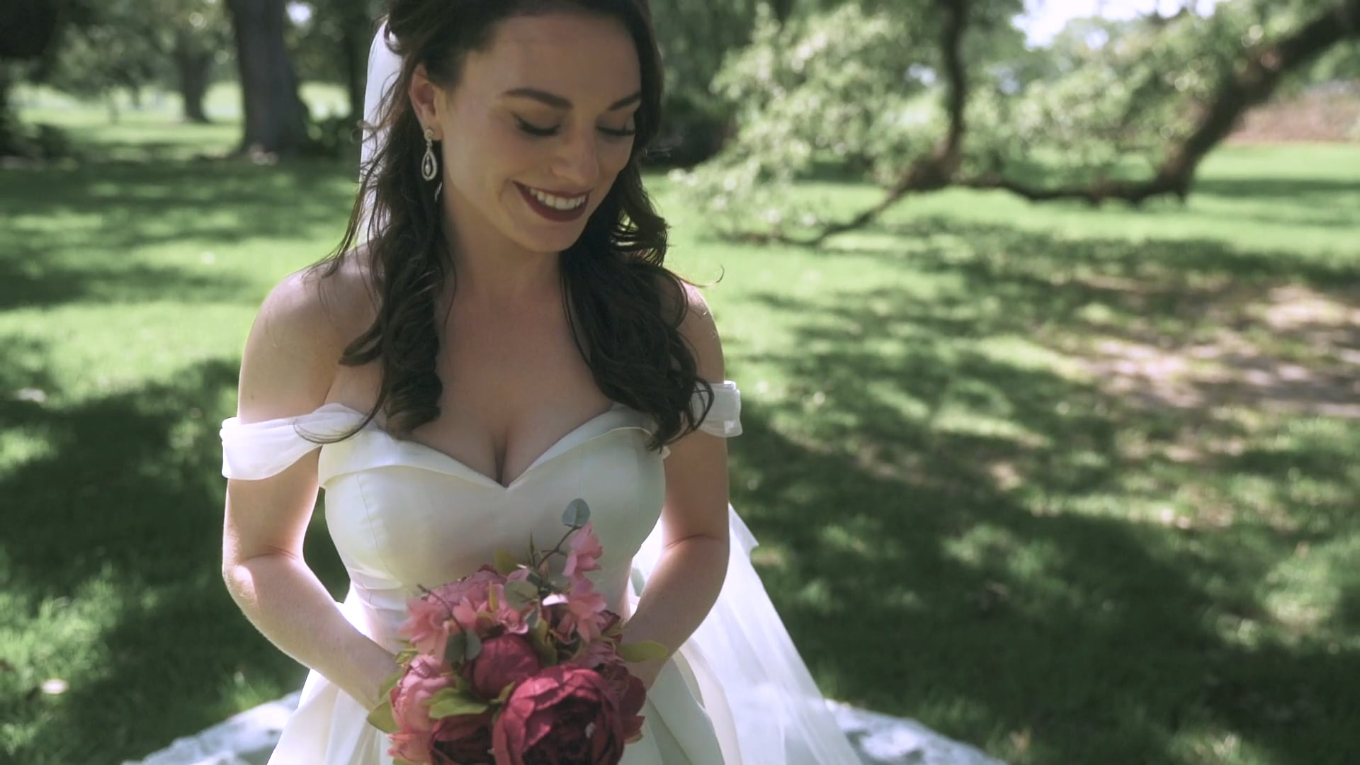Brit & Josh | Instagram Highlight | A Charming Destination Wedding at Oak Alley Plantation