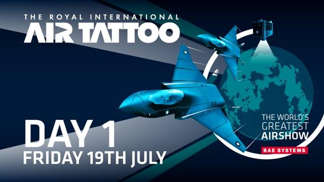 Royal International Air Tattoo 2019 Live Day 1 - Friday