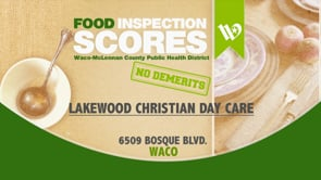 Food Scores (updated weekly)