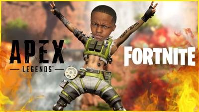 Back On The Apex Legends! + Some Fortnite