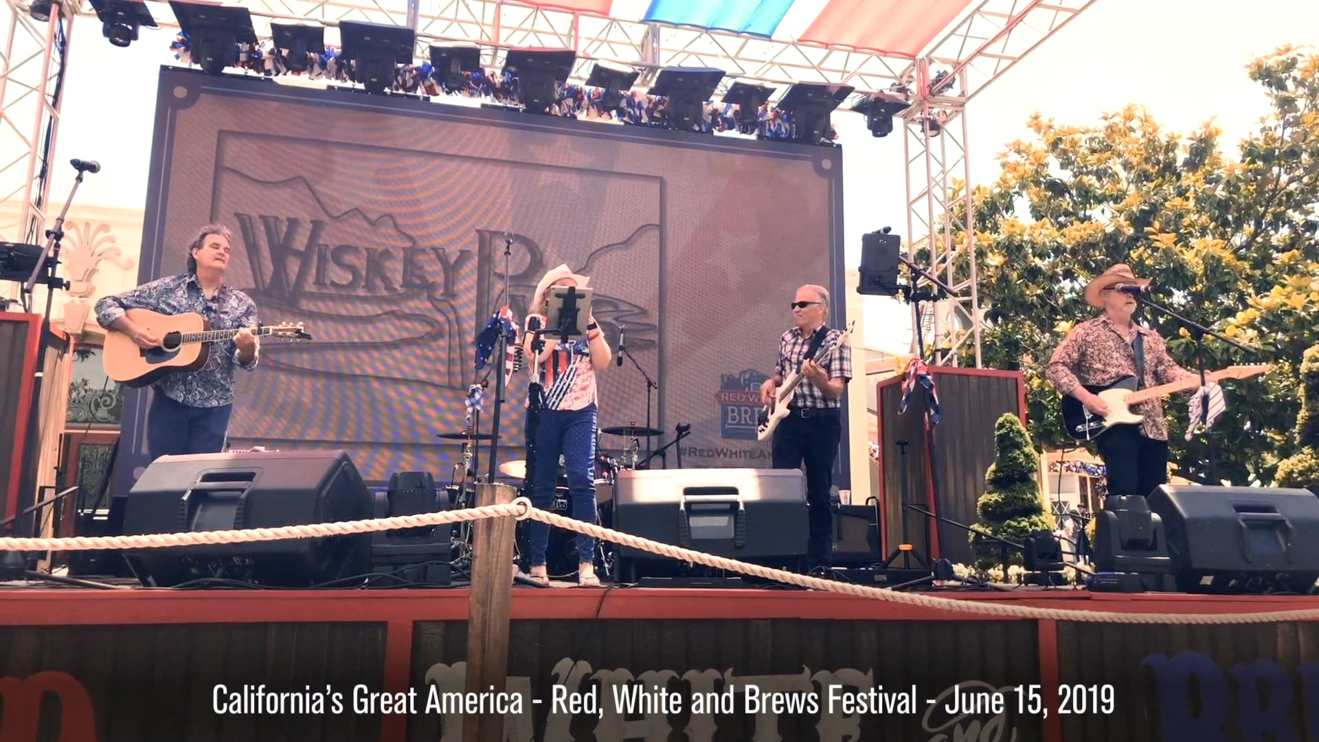 Whiskey Pass on Stage