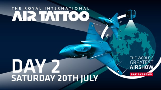 Royal International Air Tattoo 2019 Live - Day 2
