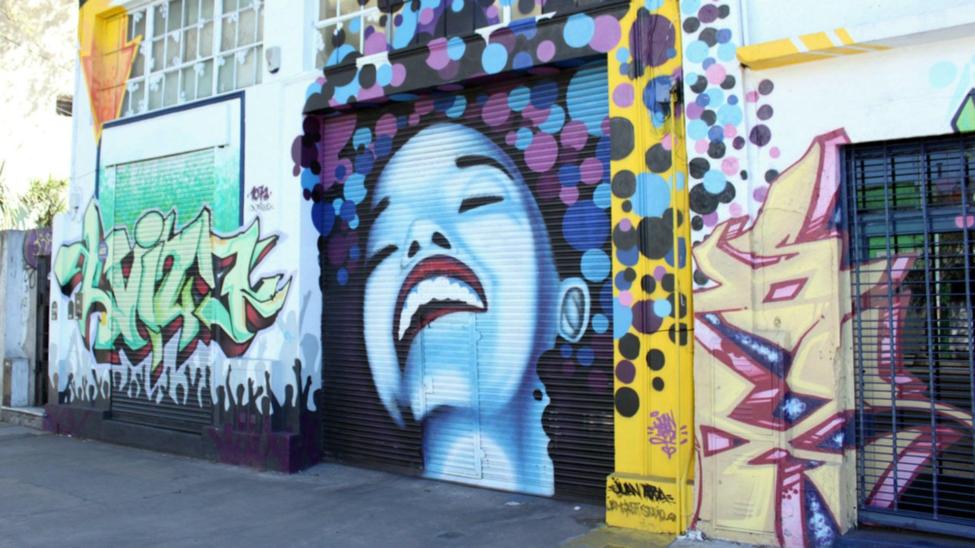 Urban art in motion