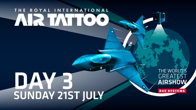 Royal International Air Tattoo 2019 Live - Day 3