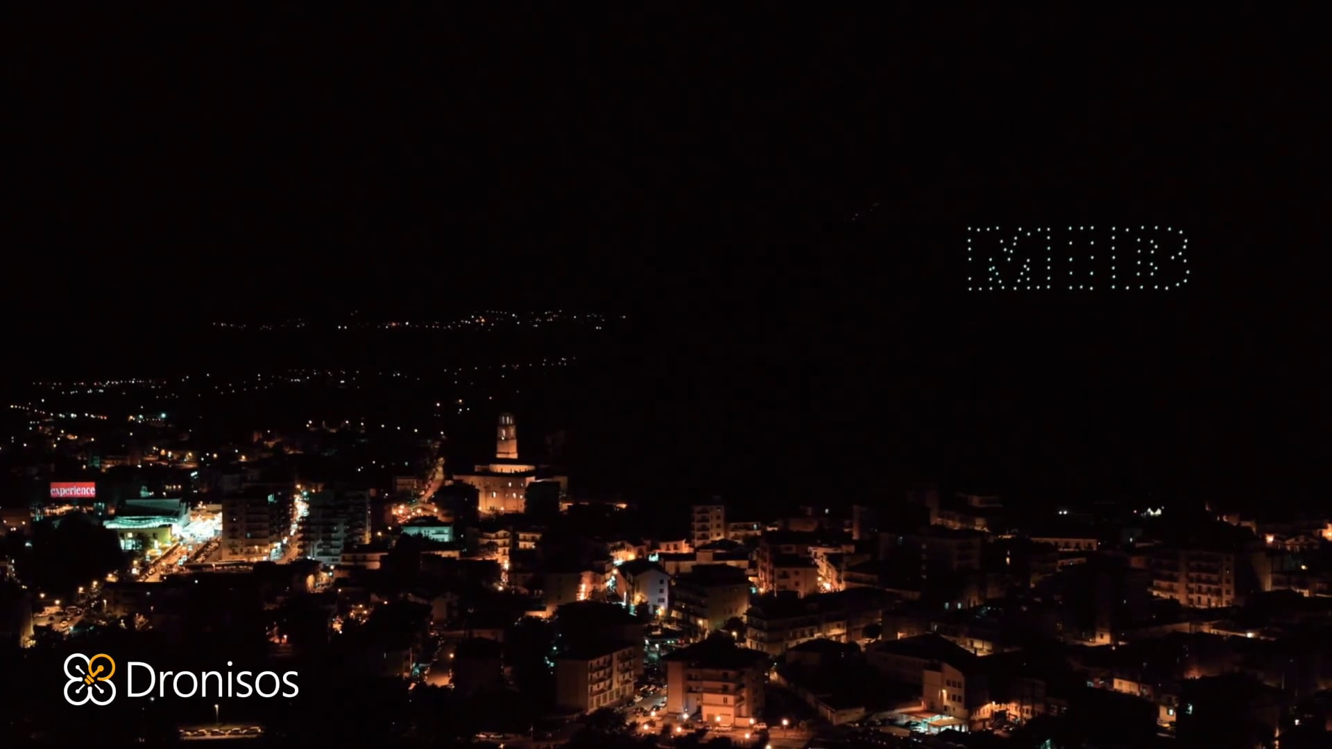 """UFOs in the sky for the """"Giffoni Film Festival"""" Italy"""
