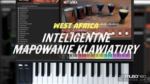 Inteligentne mapowanie klawiatury MIDI