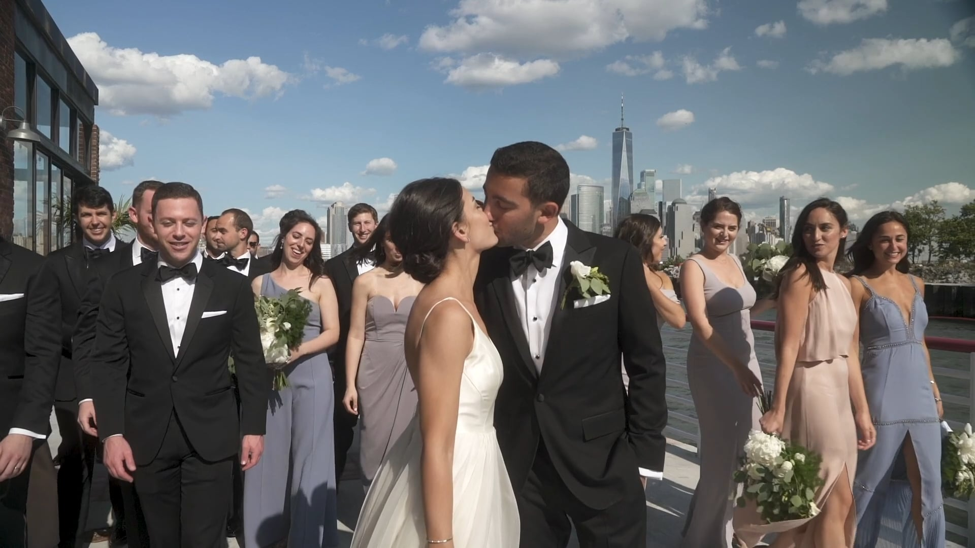 Love, Laughter & Endless Dancing on the Great Hudson River | Amy & Zach