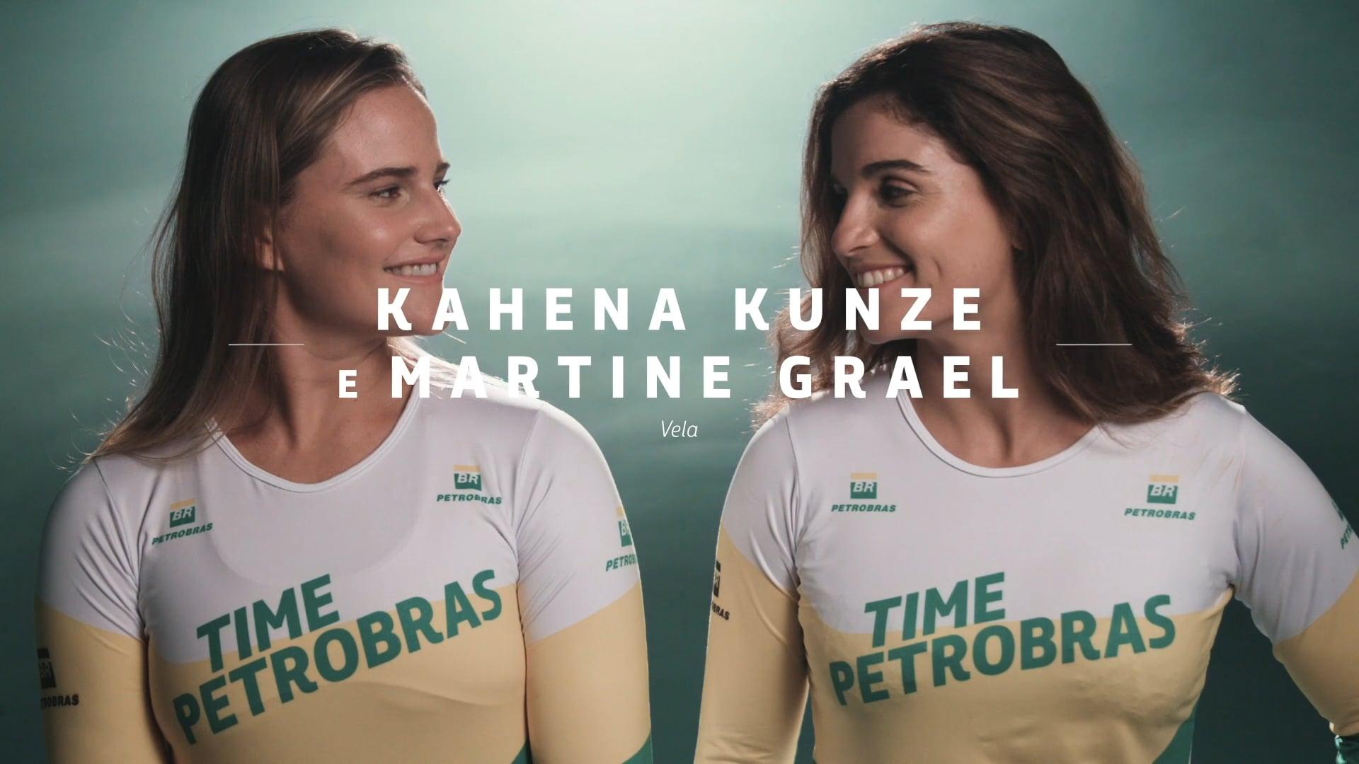 Time Petrobras - MARTINE E KAHENA