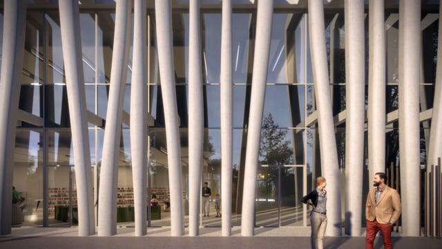 Médiathèque – Maison de quartier – Léonard de Vinci