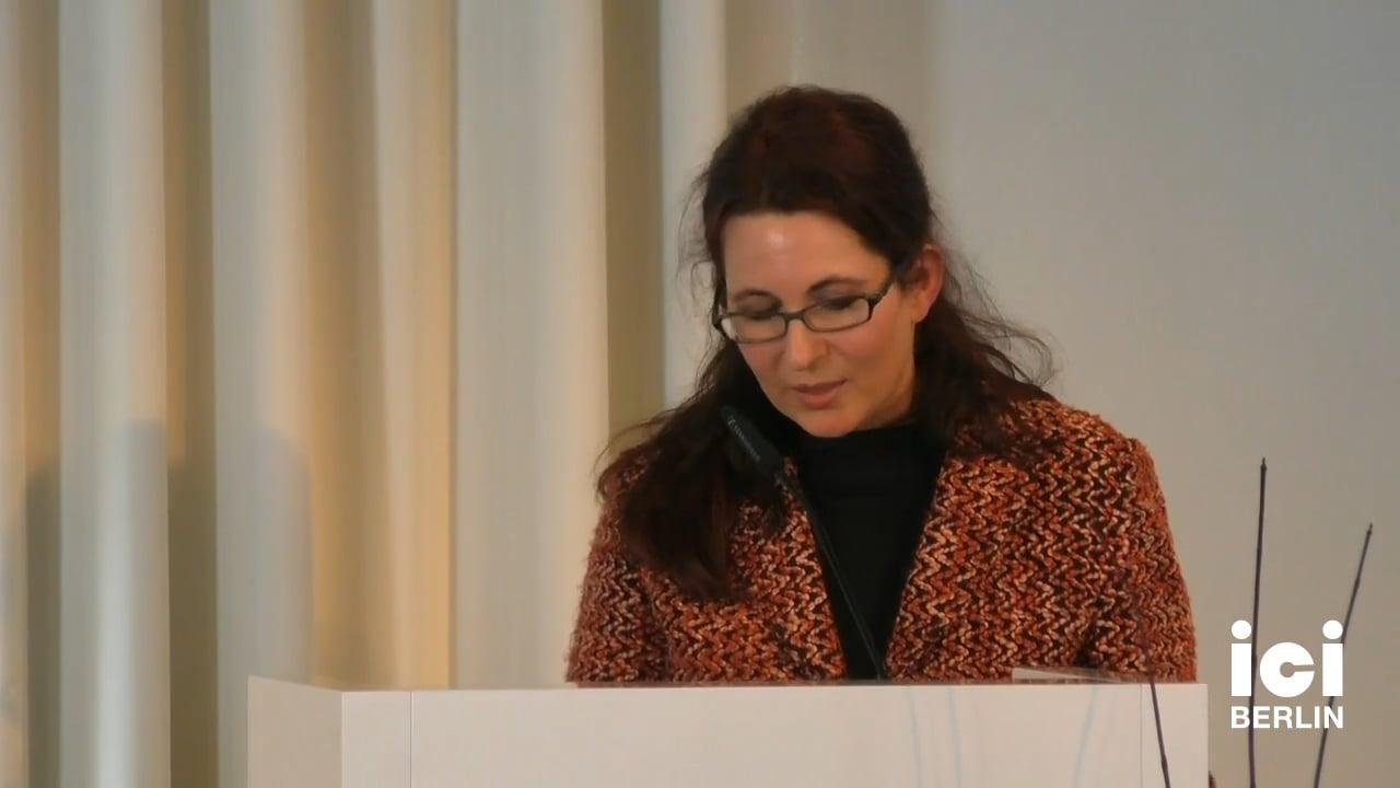 Talk by Christiane Frey