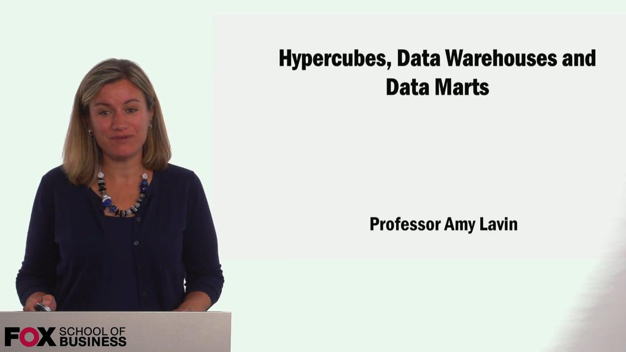 59069Hypercubes, Data Warehouses and Data Marts