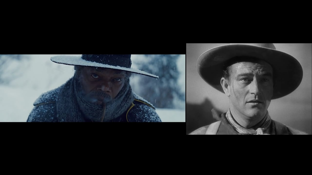 That Face | STAGECOACH and THE HATEFUL EIGHT Comparison