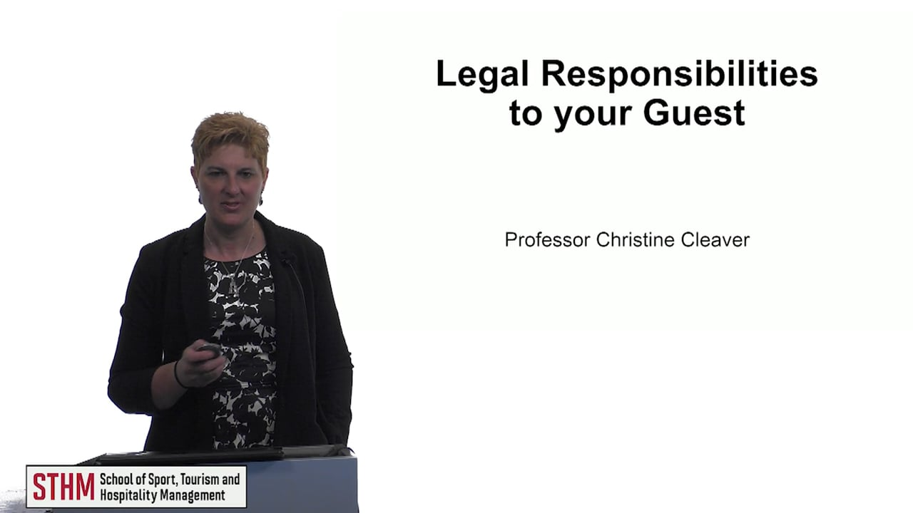 61518Legal Responsibilities to your Guest