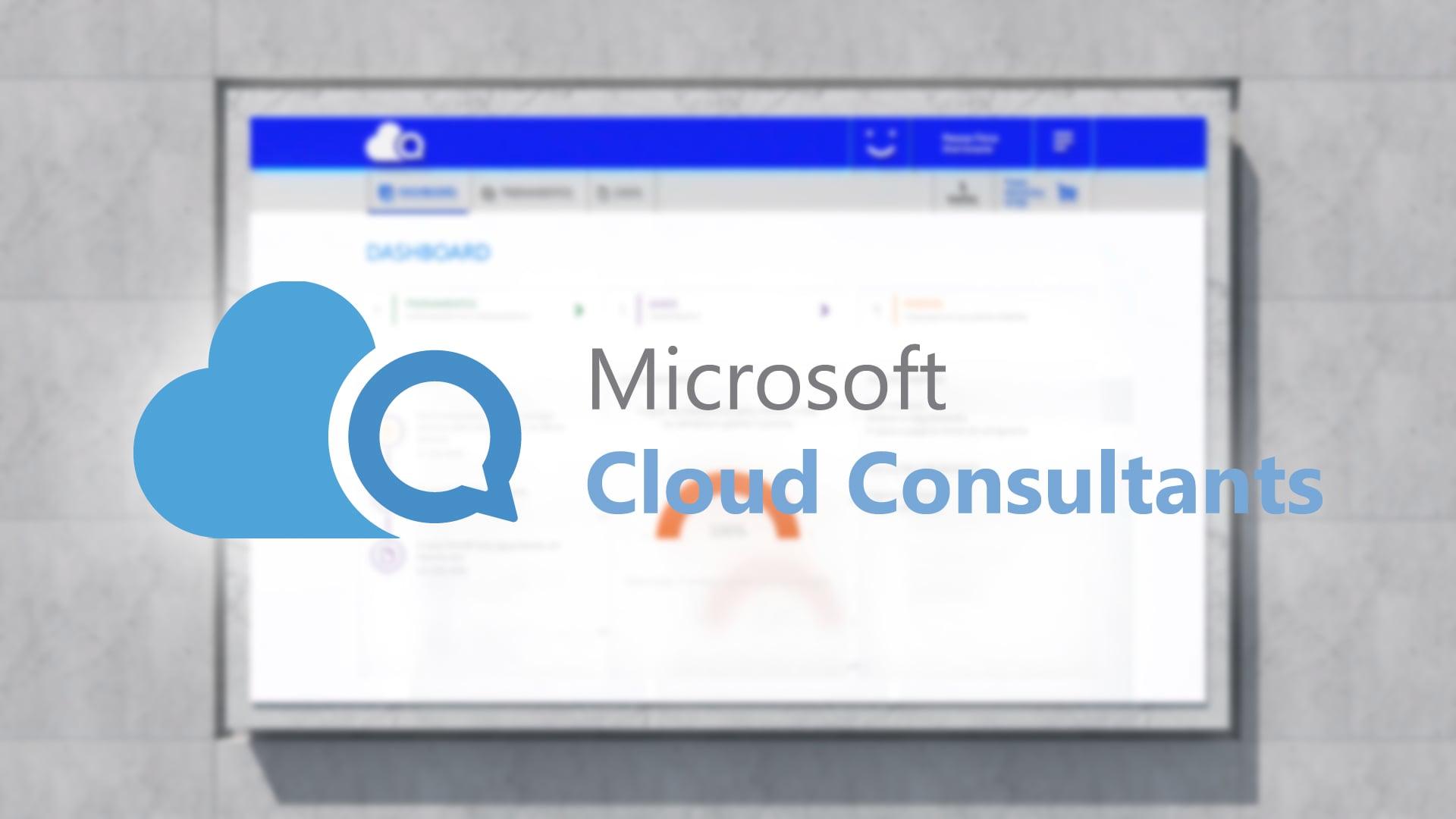 MICROSOFT - Cloud Consultants Program