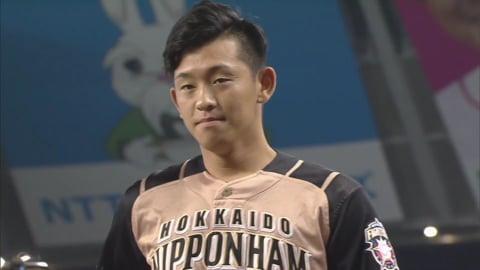 ファイターズ・北浦投手ヒーローインタビュー 2019/7/27 L-F