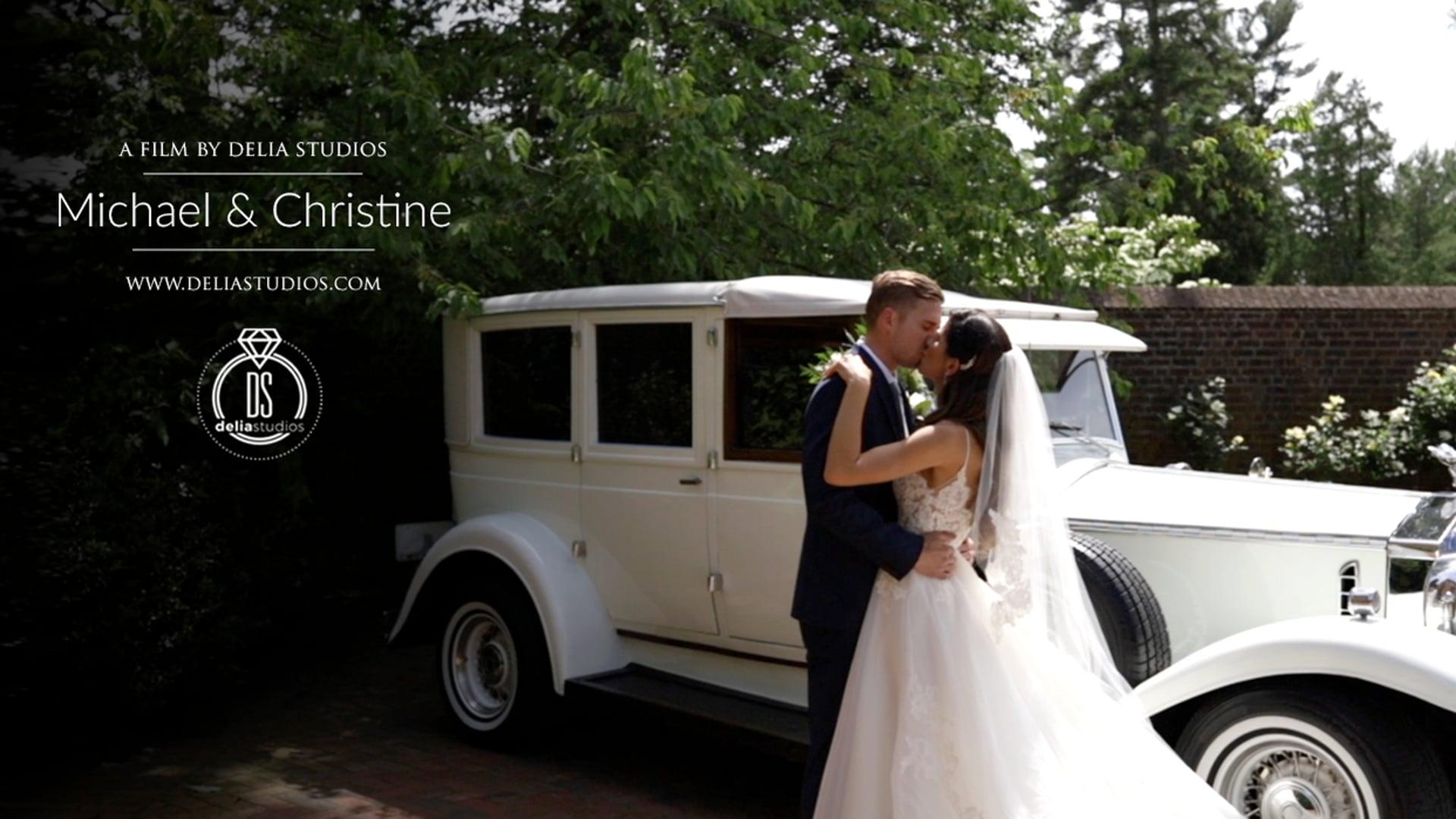 Michael & Christine :: Wedding Highlights :: Aldie Mansion, Doylestown, PA