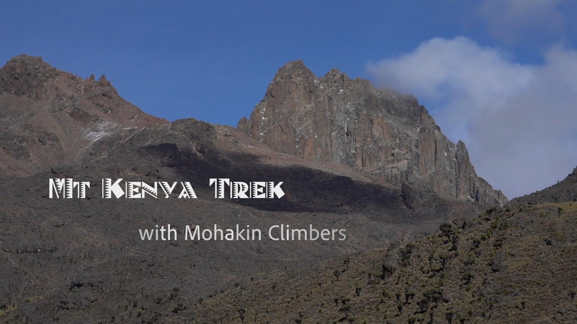 Mt Kenya Trek - Mohakin Climbers