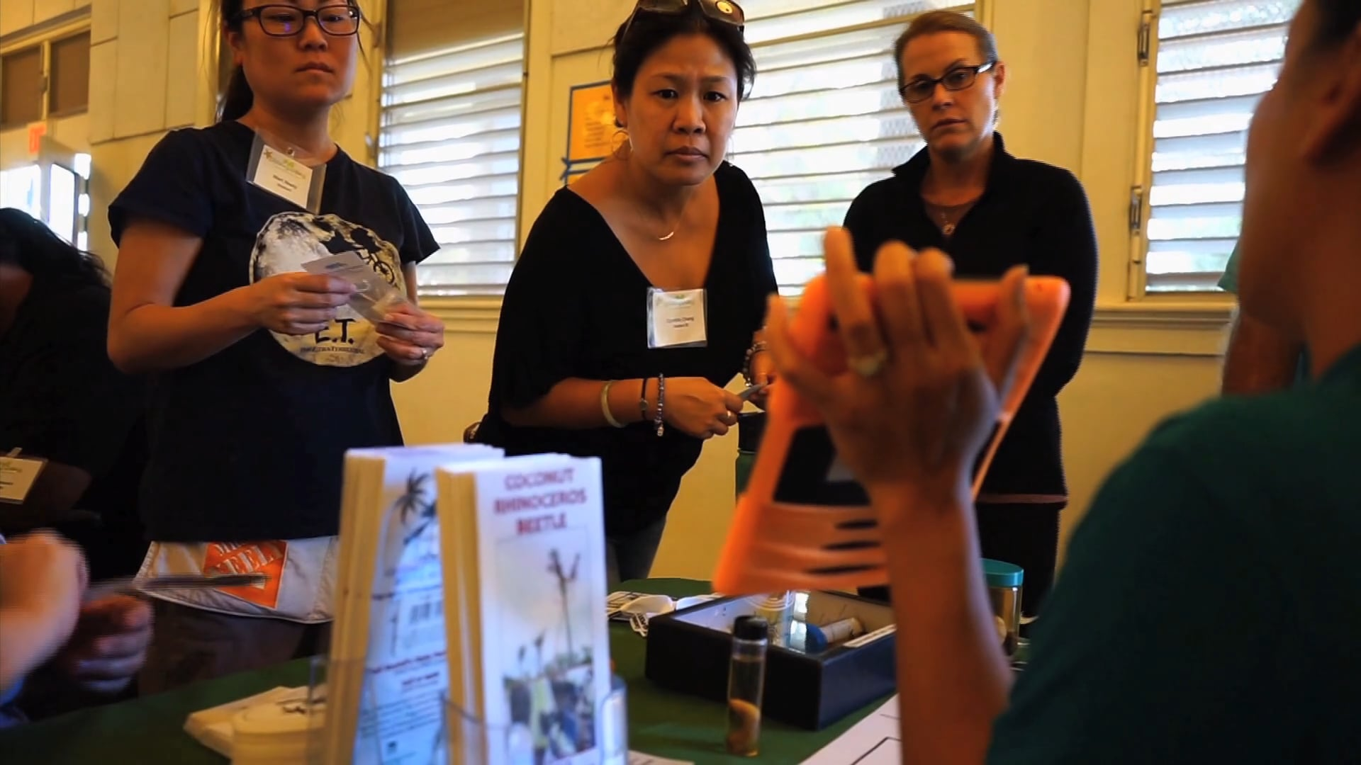 Aina and Place Based Learning Through Coconut Rhinoceros Beetle Outreach
