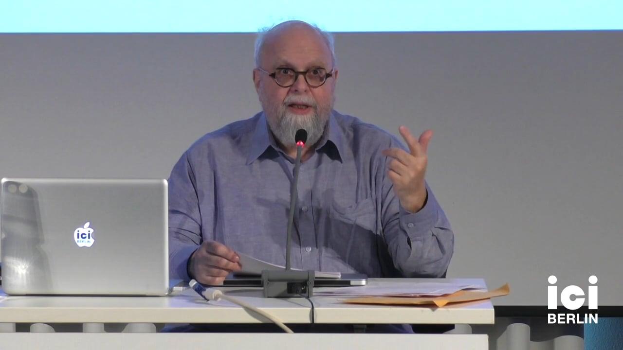 Talk by Allen Feldman
