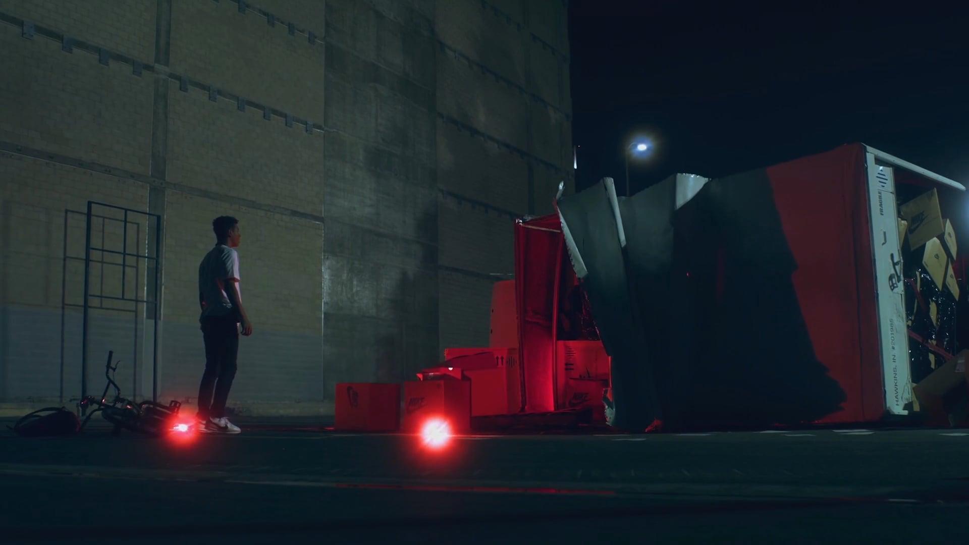 Nike x Stranger Things :: 'Lost Shipment'