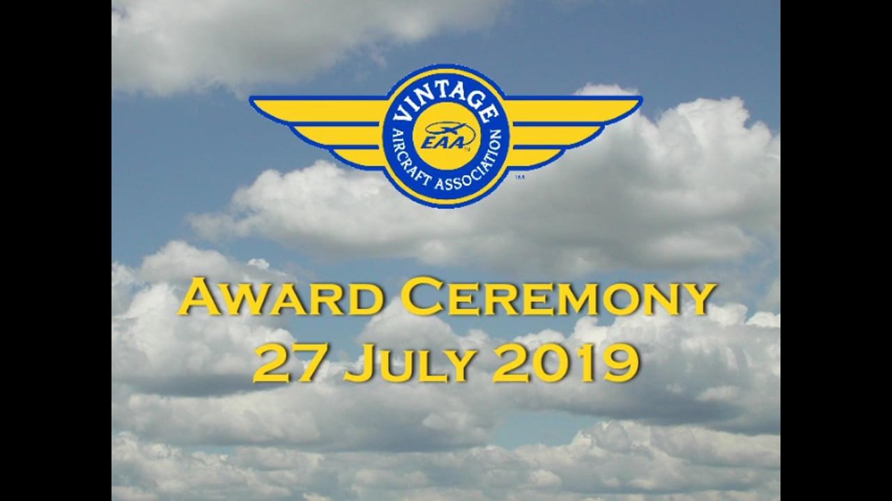 2019 Vintage Lindy Award Program