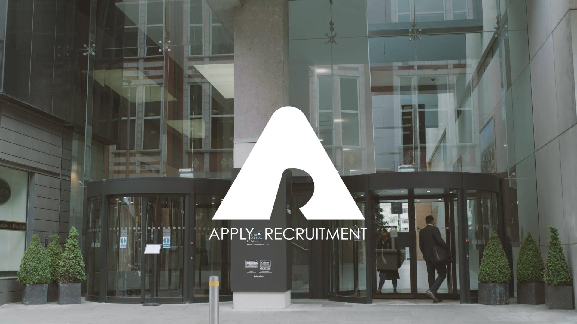 Apply Recruitment Promo Film