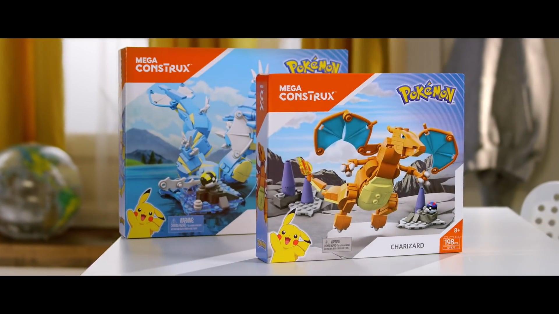 Pokémon Mega Construx Commercial