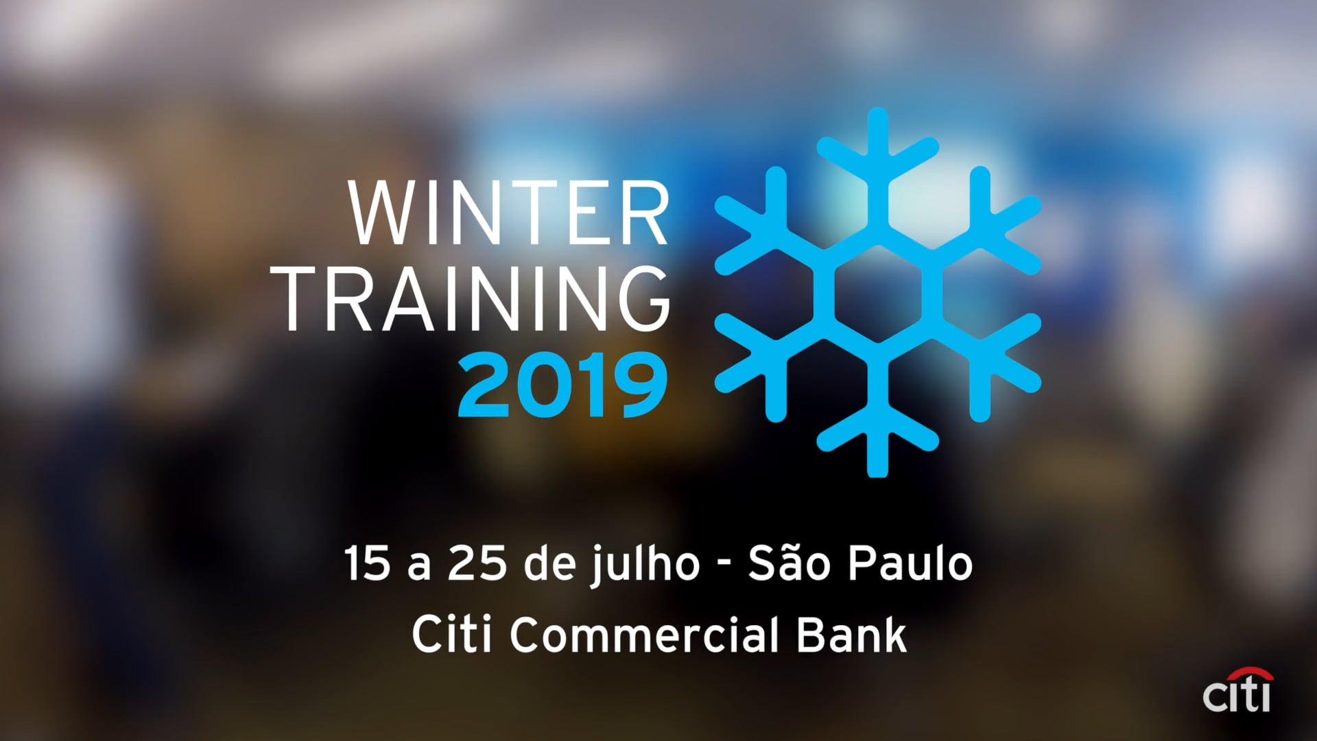 Citi - Winter Training
