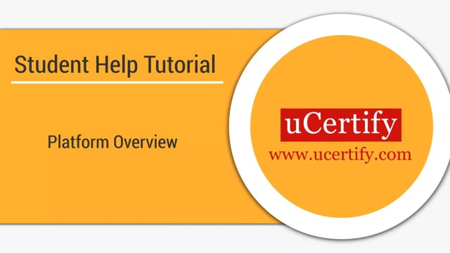 uCertify Platform Overview