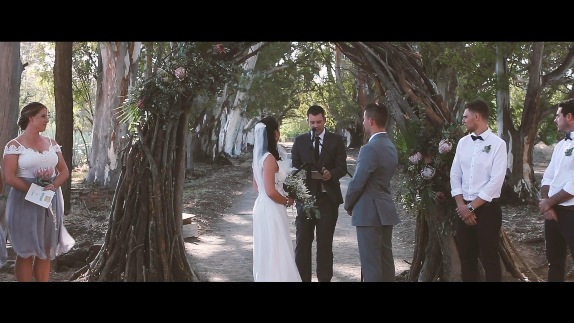 Chantel and Karl Wedding Trailer