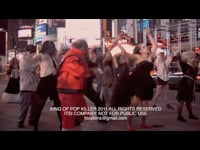 Thriller Parody Shot in Times Square