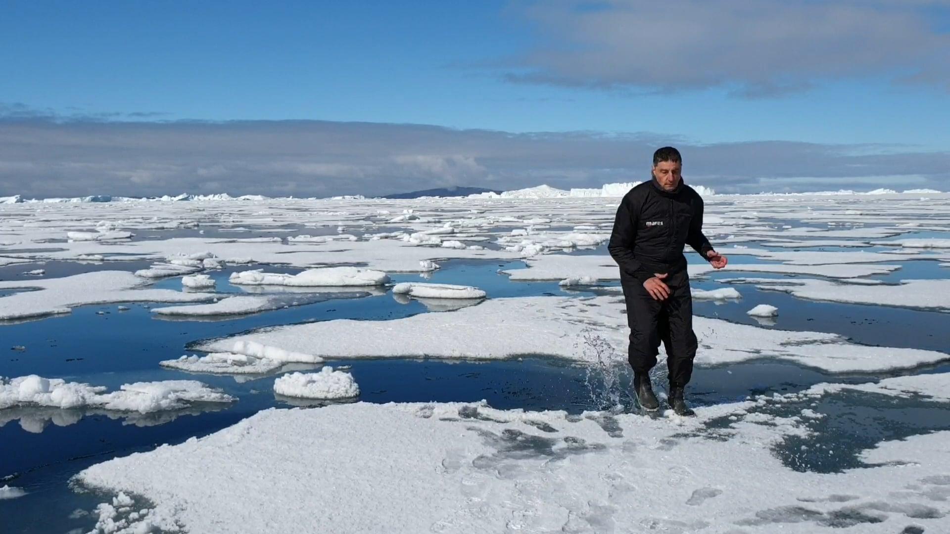 Groenland juin 2019 baie de baffin latitude 75 nord